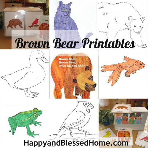 Preschool Activities Free Printables - Happy and Blessed Home