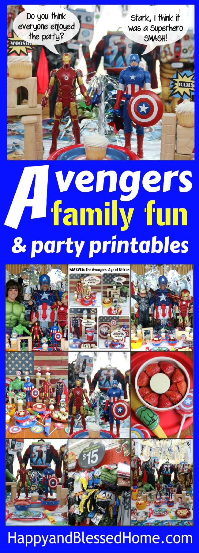 superhero birthday party free printables