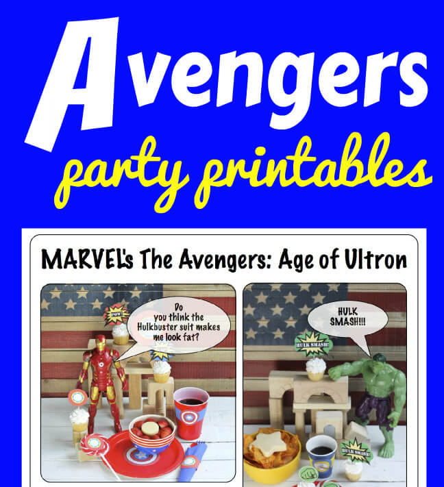 MARVEL\u0027s The Avengers Age of Ultron Party - Happy and Blessed Home