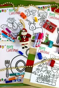 4 FREE Christmas Activity Placemats - Protect Your Holiday ...