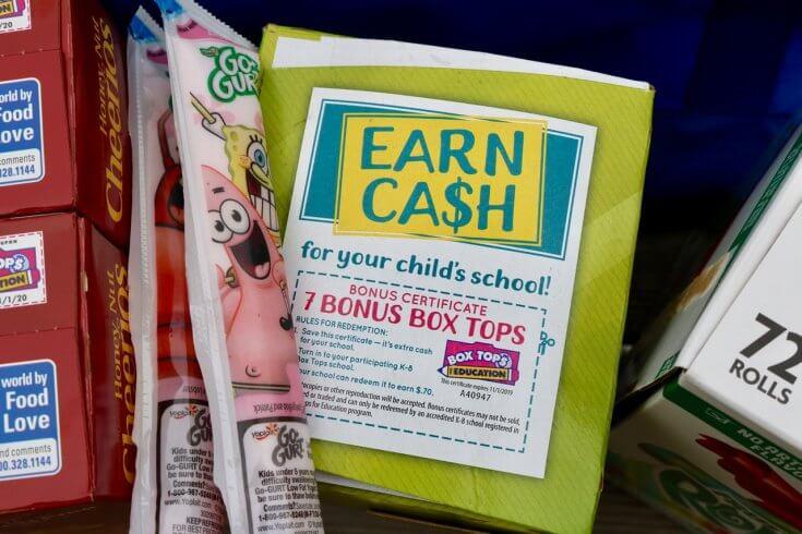 How to Raise Money for Your Child\u0027s School Through Box Tops - Happy