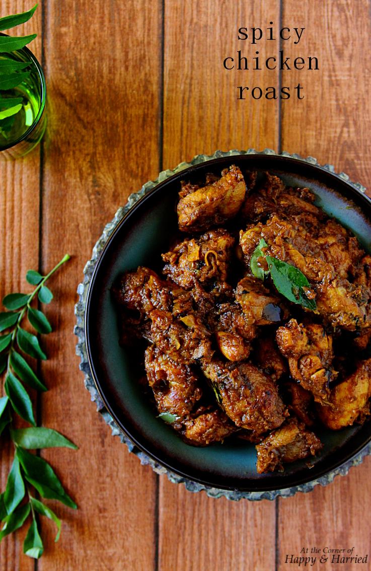 Mom's Spicy Chicken Roast