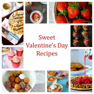 Sweet Valentines Day Treats - By Anjana at Happy & Harried