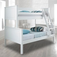 Vancouver White Finish Solid Pine Wooden Triple Sleeper ...