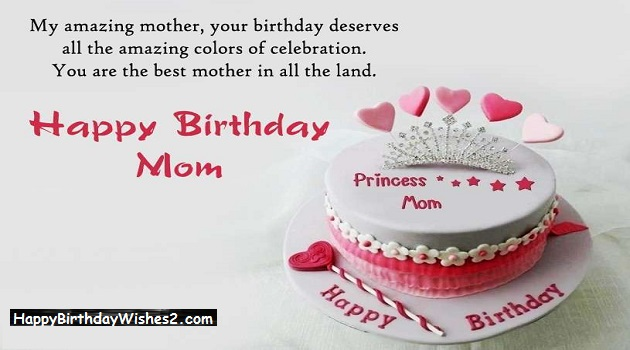 Best 100 Happy Birthday Wishes, Messages  Quotes for Mother (Mom)