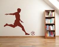 Soccer Wall Decals - Vinyl Football Wall Art Stickers