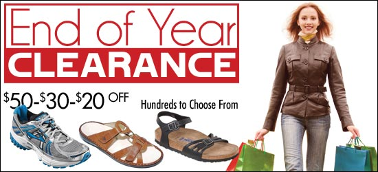 End of Year Clearance at 9 HFP Retail Locations