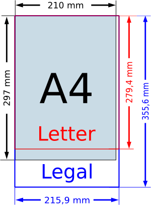 Letter Vs A4 | Free Resume Examples & Samples for All Jobseekers