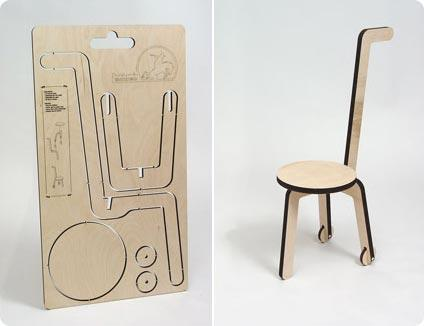 Cut out chair