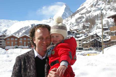 Wouter-Blok-and-Son-Bram-in-Zermatt-Switzerkland