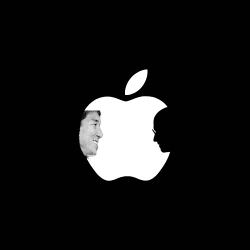 Guy Kawasaki Steve Jobs Apple Logo