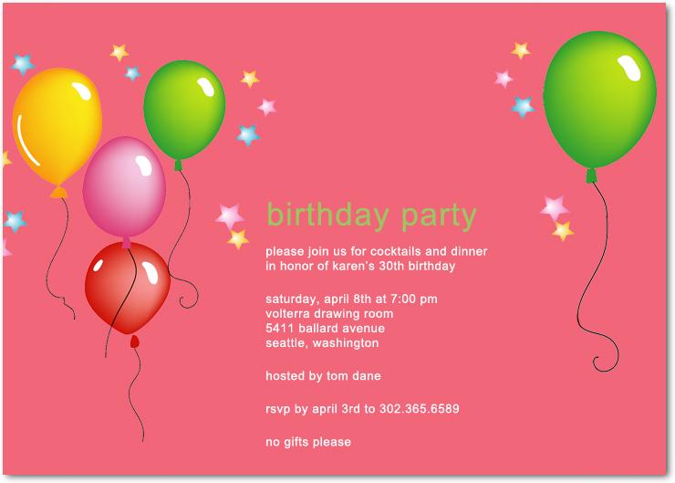 Cheap Birthday Party Invitations Happyinvitation - cards party