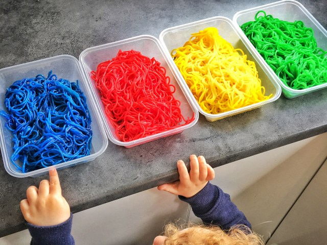 Coloured Spaghetti