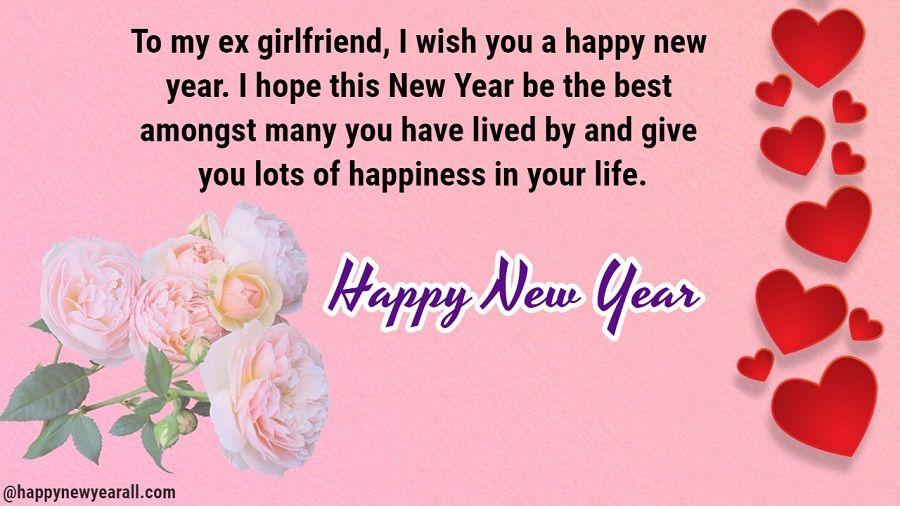 225+ Romantic Happy New Year 2019 Wishes For Ex Boyfriend