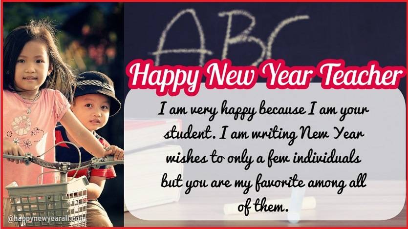 happy new year wishes for teacher happy new year 2019