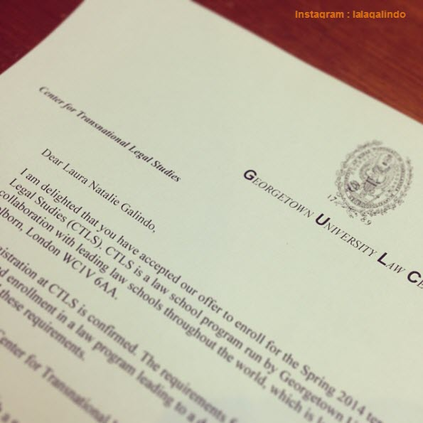 11 Awesome College Acceptance Letters Shared in Instagram - college acceptance letters