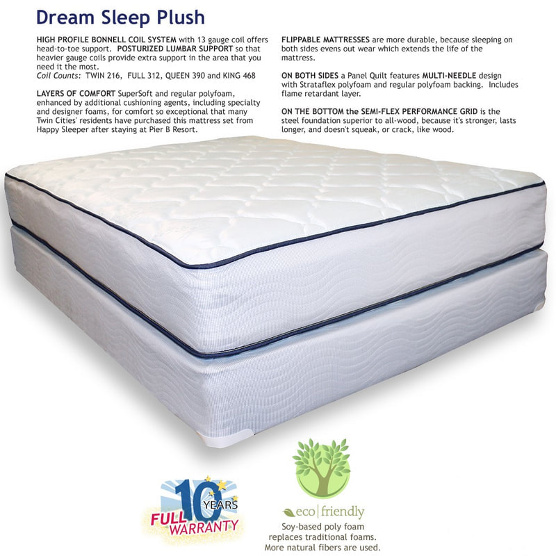 Dream Sleep Plush Happy Sleeper Mattress
