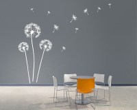 Dandelion Wall Art Decals