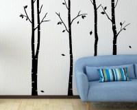 Birch Tree Wall Decal Tree Art Stickers