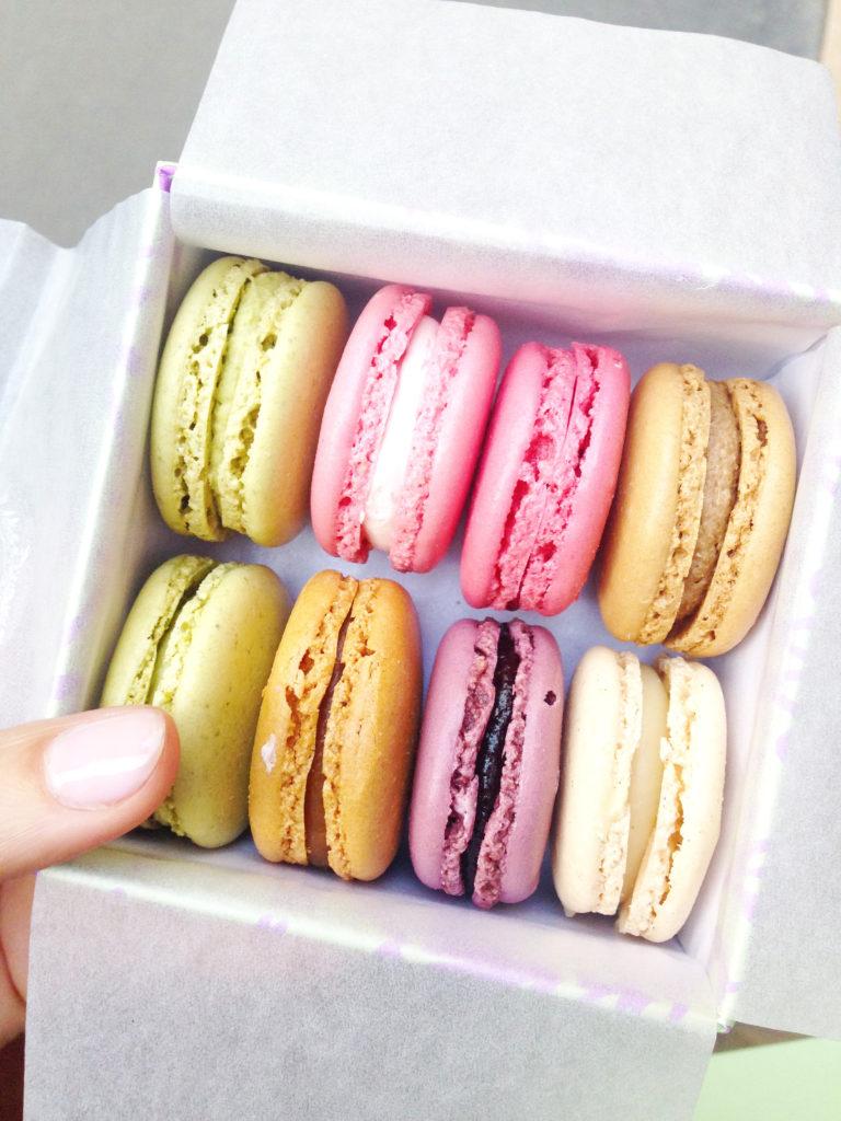 Macarons from Ladurée, photo by dear friend Lauren!