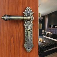 Modeled after an antique LOCK Antique brass Door lock ...