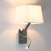 indoor flexible mechanical arm wall lamp bedside reading ...