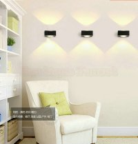 creative bedside lamp 6w white wall led wall lamp living ...