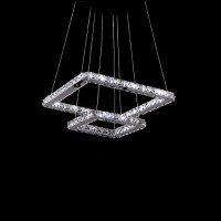 modern pendant light led pendant lamp 50cm 30cm square ...