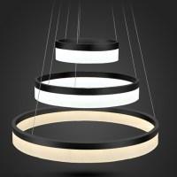 modern luxury led ring chandelier light fixture for dining ...