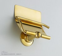 gold plated toilet paper box, paper towel holder bathroom ...