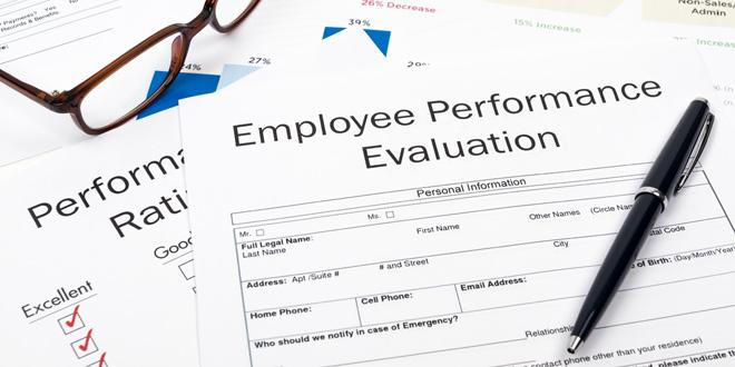 Employee Evaluation Form Hardware Retailing