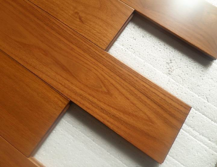 Robinia Wood Flooringprefinished Chinese Teak Hardwood