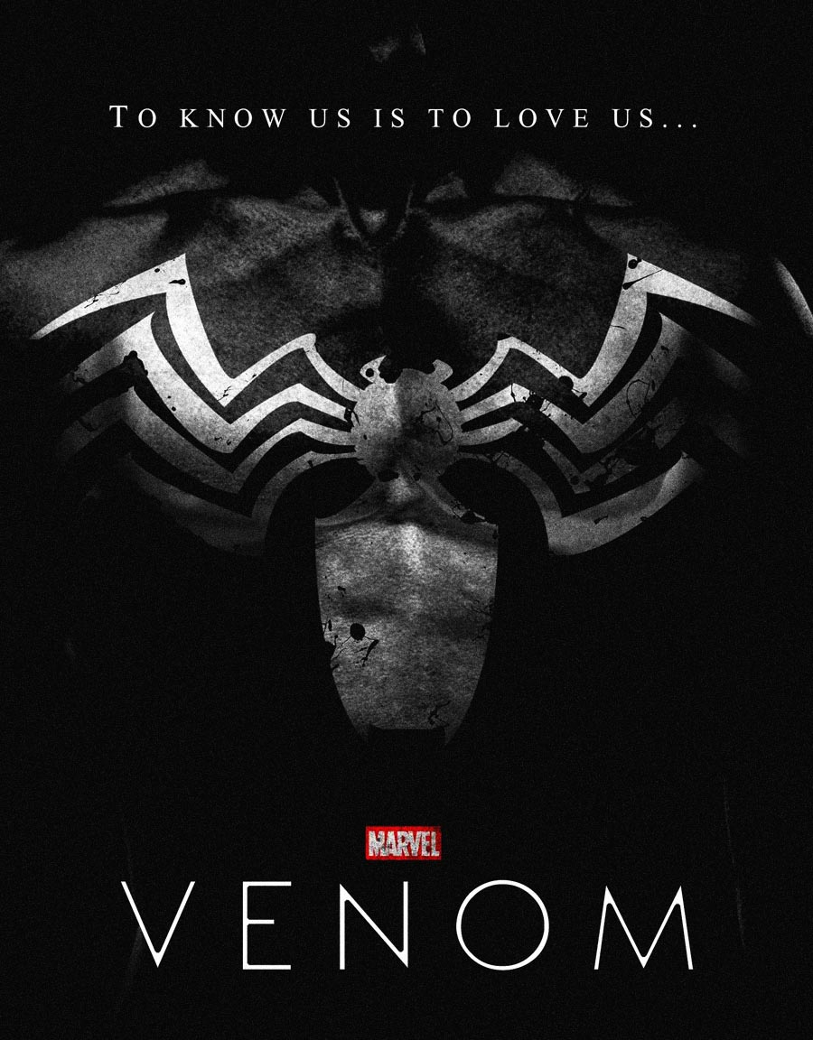 Deadpool Logo Wallpaper Hd Venom Trailer Lots Of Tom Hardy But No Venom Or
