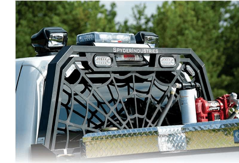Red Hot Headache Racks Medium Duty Work Truck Info