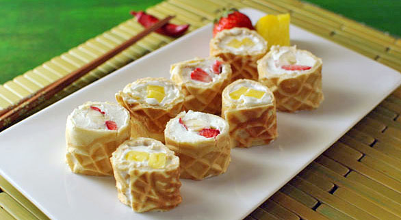 waffle-breakfast-sushi-