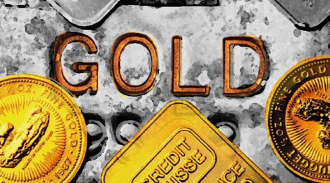 Penguatan bursa saham tekan harga emas