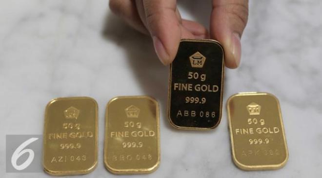 Harga emas Antam melonjak 12 ribu per gram