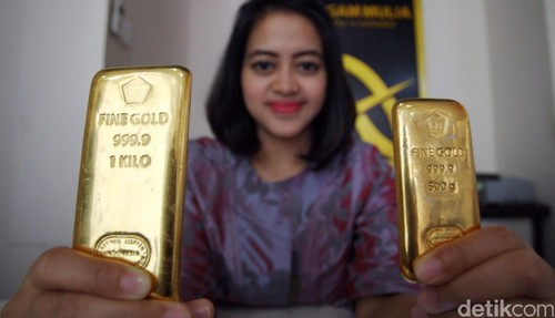 harga emas Antam 6 April 2016