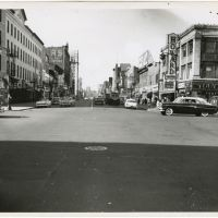 125th Street and Lenox Avenue, Harlem, 1950's