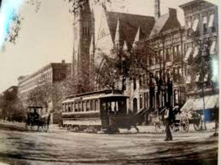 lenox avenue and trolley