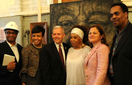 electeds and artists in harlem