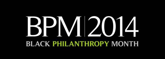 August black philanthrapy month