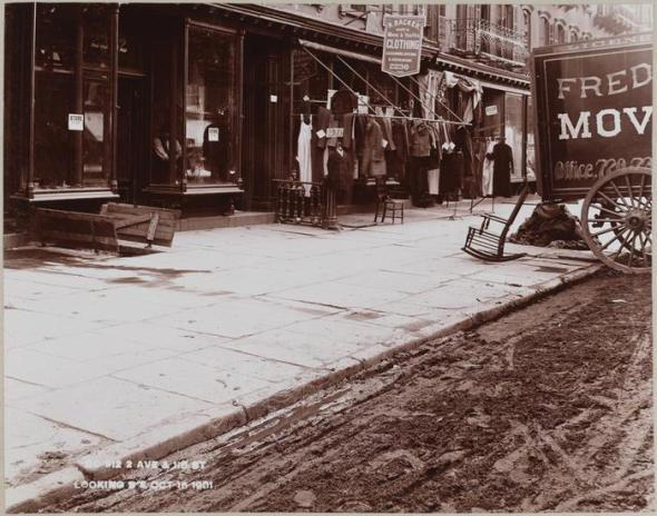 East 115th Street in 1901