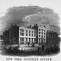 New York Juvenile Asylum in Washington Heights, 1856-1901
