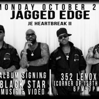 Jagged Edge Album Signing Black Star In Harlem