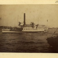"The Steamboat ""Harlem,"" Harlem, New York, 1891"