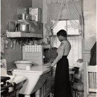 Shop: Woman In Her Kitchen, Harlem, 1936 By Aaron Siskind