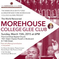 Lincoln University Concert Choir & Morehouse College Glee Club In Harlem