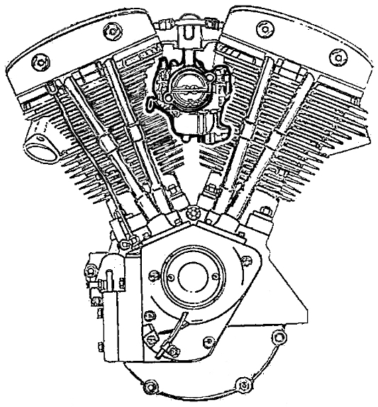 List of Synonyms and Antonyms of the Word harley engine drawings