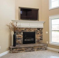 Fireplace Raised Hearth Materials - Urban Home Interior
